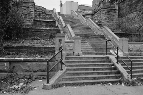 Bronx November Stairs, 2018